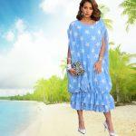 عودة الفساتين متعددة الطبقات موضة لصيف 2019
